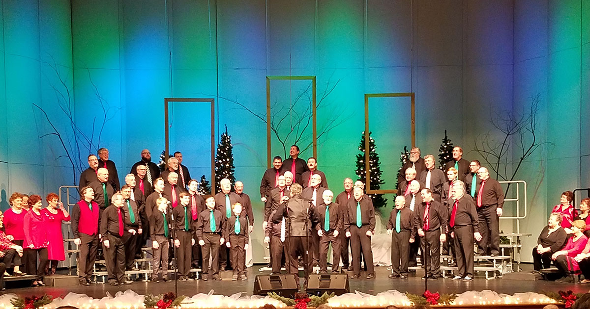 Great Lakes Chorus and Grand Rapids Sweet Adelines Chorus Holiday Show